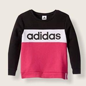 Adidas Girl's Sweatshirt L